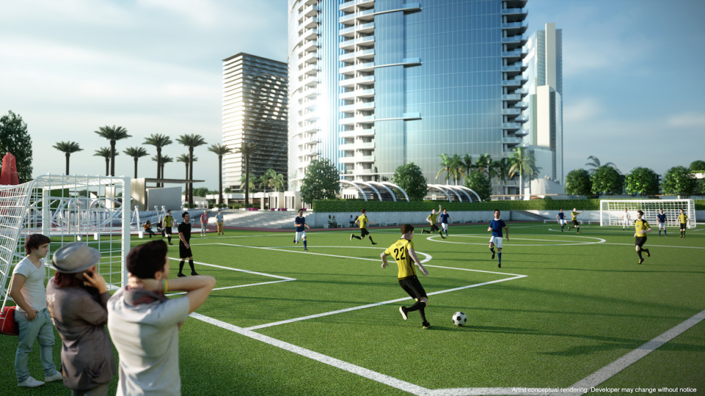 Miami World Center Soccer Field