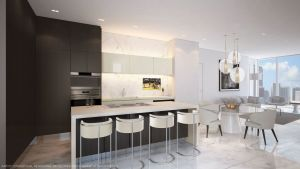Paramount Miami World Center Kitchens